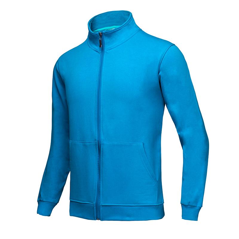 [HP068]  380克32支全棉法拉绒磨毛拉链卫衣