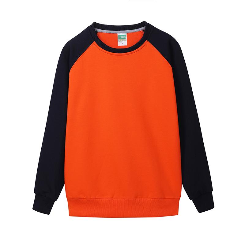 [HPTS096]  超柔水貂绒插肩圆领卫衣