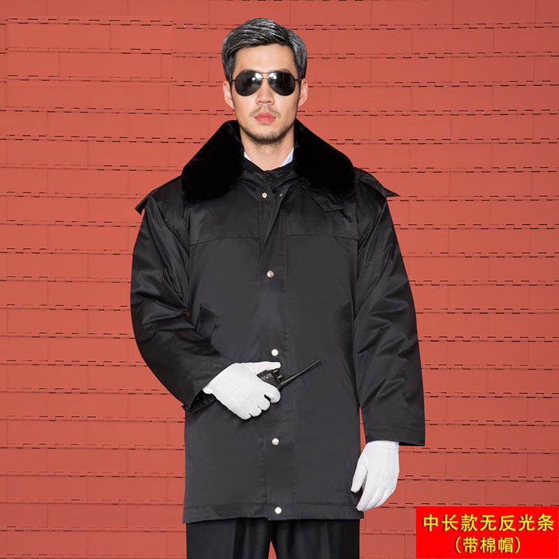 [HPYYB-28/B-29/B-23/B-24]  加厚军大衣棉服保安服